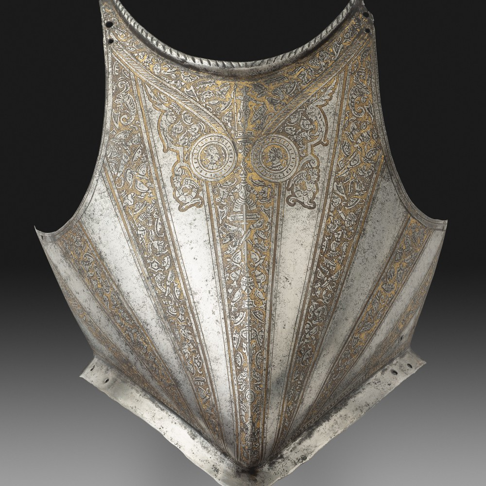 A Breast-Plate for a Foot Armour,