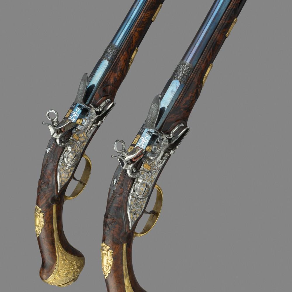 A Pair of Holster Pistols by Joseph Deop of Ripoll,