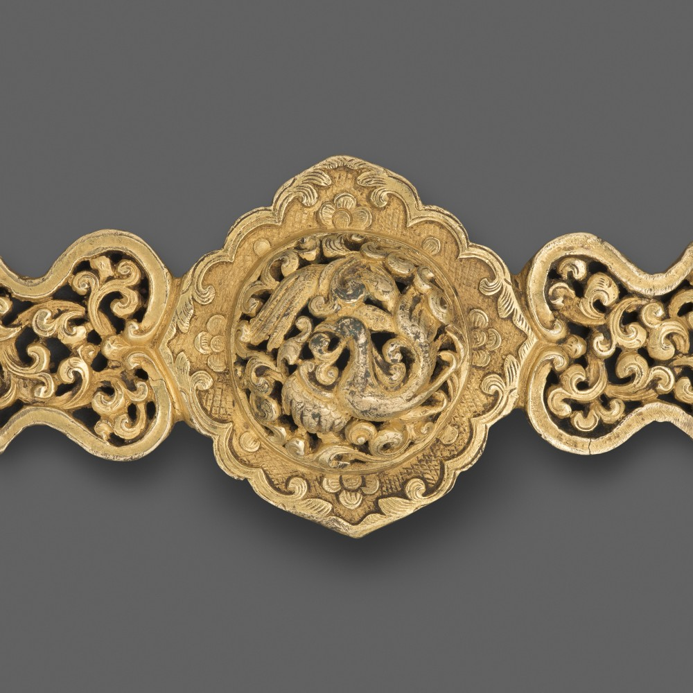 A Tibetan Harness Fitting,