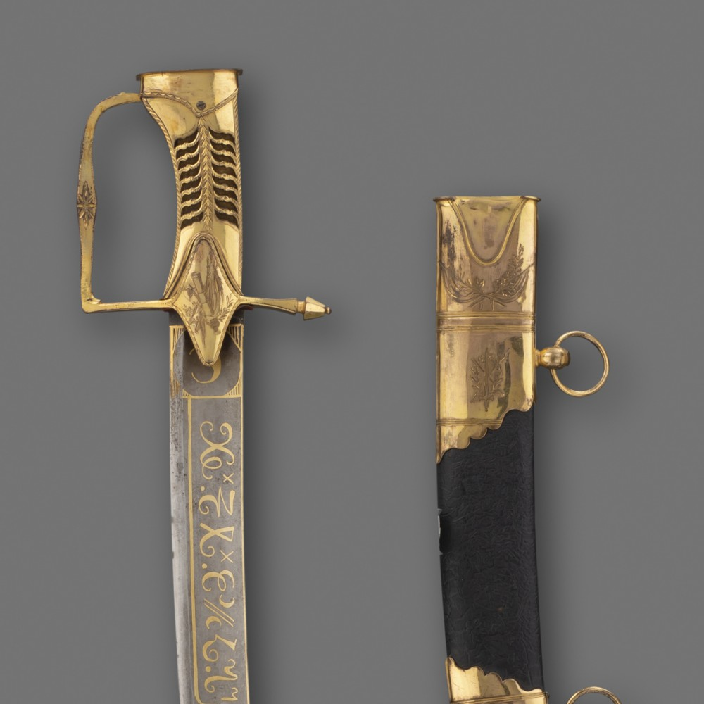 An English Light Cavalry Officer's Sabre with Royal Hanoverian Provenance, by Robert Foster, London,