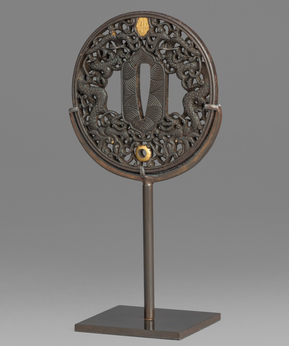 A Sword Guard, or Namban Tsuba, Edo Period