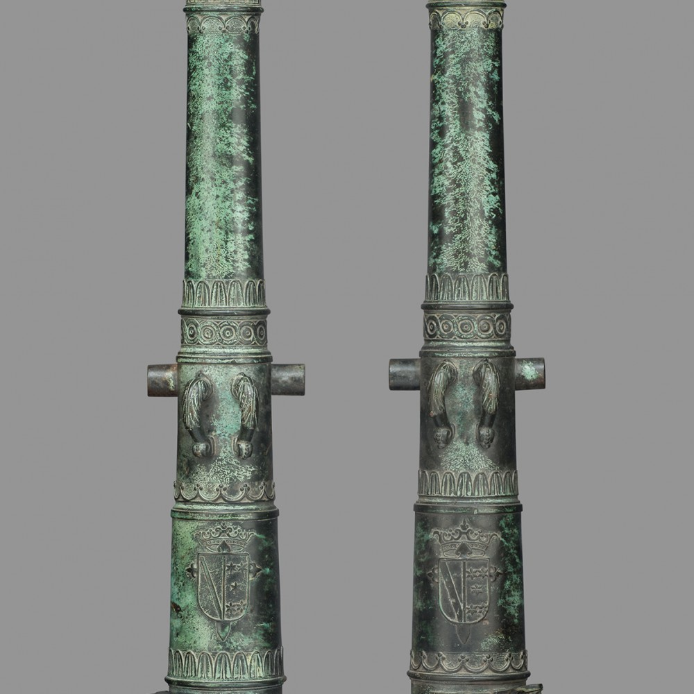A Pair of Cannon Barrels,