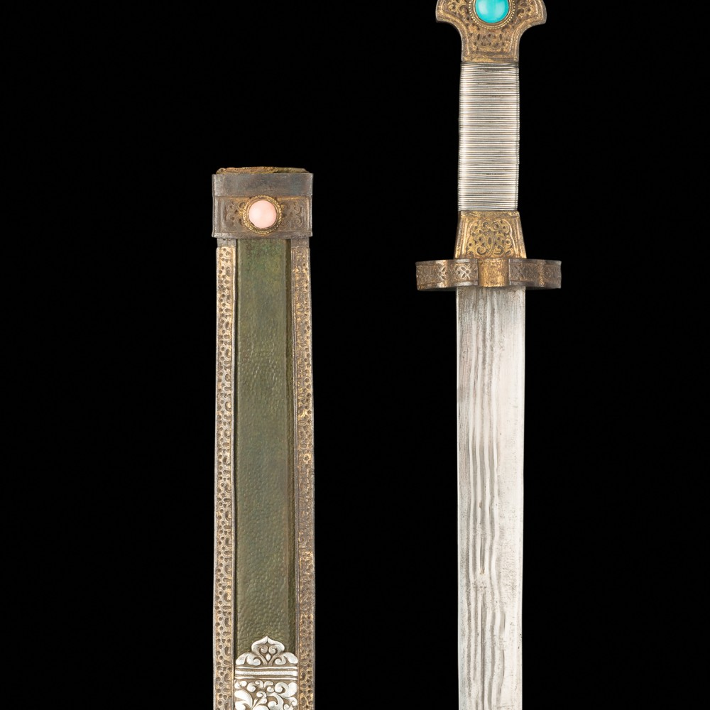 A Sword and Scabbard,